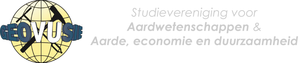 GeoVUsie – Study Association for students of Earth Sciences and Earth and Economics